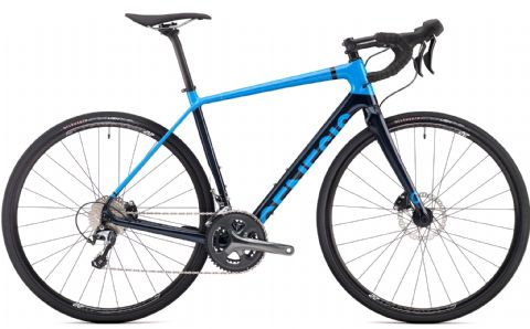 Genesis Datum 10 Adventure Bike Blue 2018